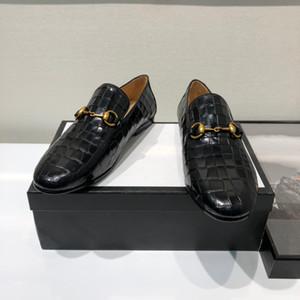 Mens-Kleidschuhketten Knoten Schuhe Herren zu Fuß Schuh lässigen Komfort Atem Schuhe für Männer reisen