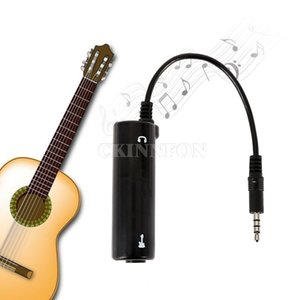 200Pcs Lot Guitar Link Audio Interface System AMP Amplifier Effects Pedal Convertor Adapter Cable Jack for iPhone Android