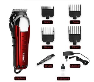 Kemei KM-2608 Clippers Haircutter Wireless electric Hair trimmers Stylist Hairs trimmer Rechargeable carbon steel