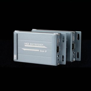 CHV891M 120m 390ft IP Matrix Extender Multi-point Independent 3.5mm Audio IR via LAN Network Router Cascading Distribution