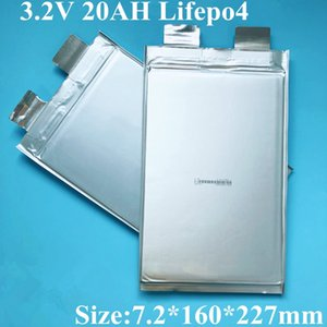 12pcs EU US Lifepo4 20ah Battery 3.2v Cell 200A 100A Amps for Diy Pack 36v EV Energy High Voltage Power Supply Rate Bateria