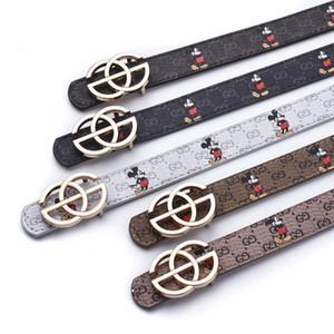 Kids Designer Cinture PU bambini stampati fumetto Vita cinghia delle ragazze dei ragazzi Student stampa moda cinture PU belt regalo di alta qualità S555