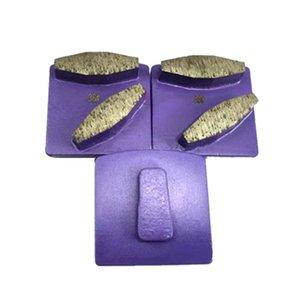 Redi Lock Two Octagon Segments Matel Bond Concrete Grinding Disc Abrasive Diamond Floor Pads for Hus-qvarna Grinder 12PCS