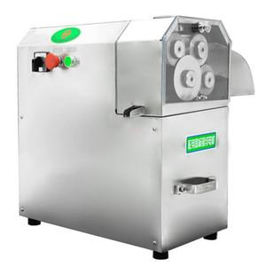 Suco de 110V / 220V de alta qualidade elétrica de aço inoxidável Juicer Sugar Cane Imprensa Juicer ajuste automático da máquina