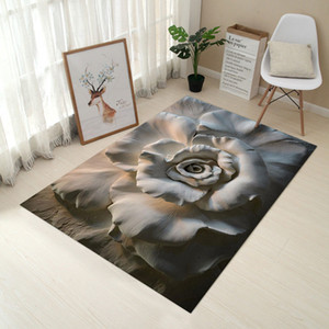 3D Creative Staff Carpet European Carpet Bedroom Door Door Mat Bathroom Anti-slip Living Room Kitchen Absorbent