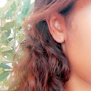 Gold Filled Piercing Ear Cuff Clip Earrings Handmad Gold Wrap Oorbellen Minimalist Best Friend Gift Brincos Earrings For Women 200925