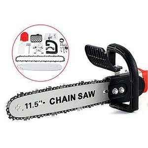 11.5inch Electric Chainsaw Bracket Adjustable Universal M10 M14 Chain Saw Part Angle Grinder Into Chain Saw