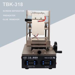 Nouveau Séparateur d'écran LCD à vide TBK-318 3 en 1 + Préchauffeur + OCA Colle Polarizer Remover TÉLÉPHONE MOBILE écran LCD Écran à rénovation