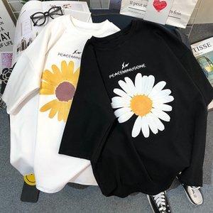 3wFSy 2020 Underpants underpantsT-shirt Papatya ve yaz yeni Koreli üst underpantsspring tarzı ins tüm maç kısa kollu T zayıflama gevşek