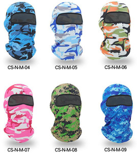Windproof Tactical Army Camo full face protective mask paintball airsoft headgear Balaclava Neck Hunting Fishing Camping UV Protection hat