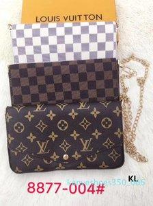 2020 nouveau sac à bandoulière chaîne sacs à main luxurys de 3-pièces style femmes designers sac crossbody sacs à main et porte-monnaie nouveau style K06