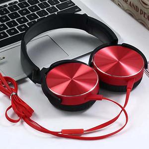 2020 Headset Gaming Headphones Soft Earmuffs Noise Canceling Earphone 1.2m Cord Headphone For Computer Phone Metal Decorated