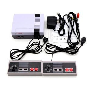 2019 New Mini Video Handheld Portable Game Console Can Store 620 Games 8 Bit For Nes Small Box 50pcs