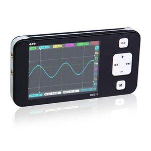미니 DS0211 전문 휴대용 오실로스코프 1MHz의 8메가바이트 핸드 헬드 MCX 프로브
