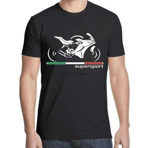 Bicicleta Super Sport Supersport T Shirt Motorcycle Moto T-shirt dos homens da roupa de forma S Camiseta