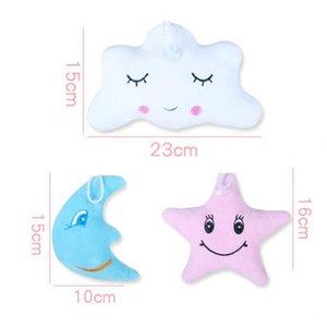 New Star Lune en forme de peluche oreiller jouets pour les enfants Nuage Expression Jouet en peluche rempli Super Soft Canapé Poupée Coussin enfant Confort Jouet