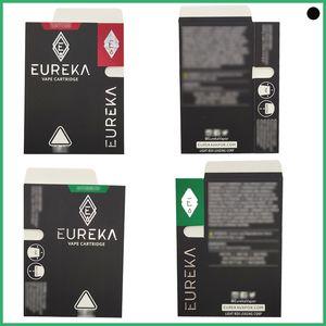 Elmas Şekli Ambalaj Eureka Kartuşları Seramik Bobin 0.8ml / 1.0 ml Hiçbir Kaçak Atomizer Dank Sepetleri Vape Kalem Hızlı Kargo