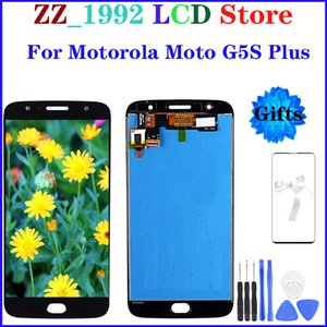 """5.5"""" Super quality OEM LCD Replacement for Motorola Moto G5S Plus G5S+ XT1800 LCD Touch Screen Display Digitizer Assembly with gifts"""