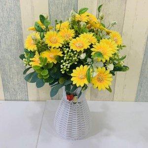 5 Disposición Forks simulado ramo de las flores DIY floral Decoraciones de boda de flores Oficina de estar sala de fiestas