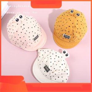 ZCetZ Estrela Spire Capstar Outono chapéu novos olhos dos desenhos animados de algodão bonito cap Baby Baby boné de pala