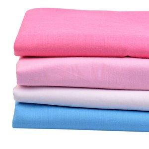 133 * 72 tissu coton solide popeline pour femme chemise en été 50 * 148cm / pièce W300005