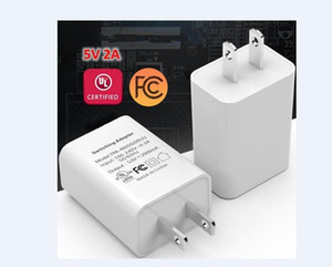 Universal Travel Charger 5V 1A 2A USB Charger US Plug UL FCC Certified Power Adapter Wall Charger For Cell Phone Tablet