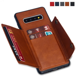 Card Holders Wallet Case for Samsung Galaxy S10 S9 S8 Note 20 10 S20 Ultra Plus A6 A7 2018 A10 A20 A30 A40 A50 A70 A21S M20 M30 cover