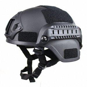 Motosiklet Kaskı ABD Ordusu MICH2000 Eylem Sürümü Kask Bisiklet CS Kılavuzu Fan Taktik r0OP #