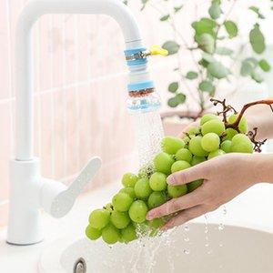 Rotativo da 360 gradi del rubinetto Filtro ugello Anti-Splash colpetto della cucina Filtro acqua ugello spruzzatore casa dell'accessorio del rubinetto dell'acqua