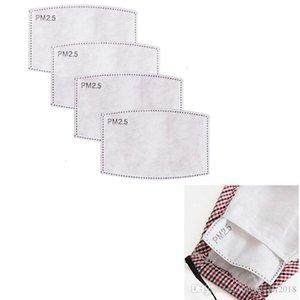 Haze Mund Aktiv Baumwolle Pm2 Antistaub-Papier 0,5 Carbon-Gesichtsmaske mit Filter 50pcs Lot