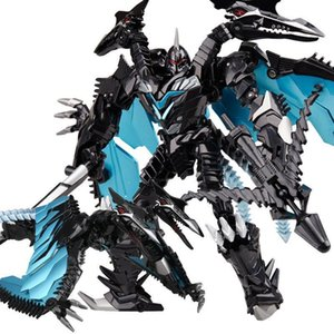Figures Boy Classic 21-27cm Transformation Dragon Kids Alloy Anime Brinquedos Action Toys Weijiang Dinosaur Toys Oversize Robot xhlove ozhh