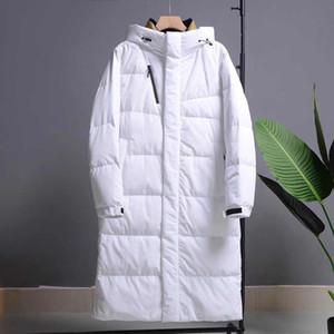 20s Moda Uomo Designer Giù giacca casual stili più lunghi Dow cappotti di alta qualità di inverno degli uomini parka cappotti 3 colori