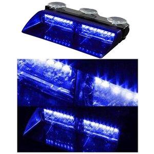 16 LED Dash Strobe Light Car Truck Emergency lampeggiatori giorno consecutivo 12V 8 lampeggiante Modalità Assembly Car Light