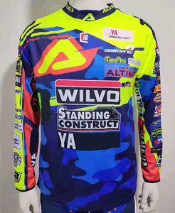 2020 nuova vendita calda YAMAHA velocità resa estate T-shirt a maniche lunghe in poliestere esterno ad asciugatura rapida vestito off-road moto moto coagulo