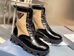 estilo de la moda de Corea del otoño cargadores de Martin Ligera Flying tejer 4 cm de tacón bajo las botas cortas de cuero genuino Zapatos de las mujeres xy09101