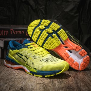Asics GEL-Kayano 5 360 2020 new zapatos para caminar GEL-Kayano 360 5 Jóvenes Hombres Nuevos zapatos corrientes de amortiguación GEL Blanco Verde estudiantes Sneakers1988