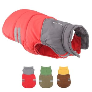 Luxury Winter Dog Clothes For Dogs Reflective Warm Down Jacket Waterproof Pet Coat For Small Puppy French Chihuahua Outfits 35