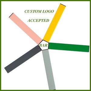 14 nuevos colores dispositivo desechable Logo vainas costumbre aceptada Bar plumas vacías électronique cigarrillo Vape bolígrafos con el rasguño Código 1,3 ml Carros