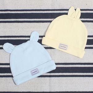 sskhX Primavera e Verão novo puro algodão recém-nascido pulôver Tire bebê cap shaping tampão do bebê pullover chapéu pneu