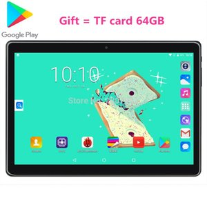 New Google Tablet PC 10 inch Quad Core 2G RAM 32GB ROM+TF 64G 3G Android 9.0 Tempered tablets Dual sim WiFi GPS 10.1GPS tablet