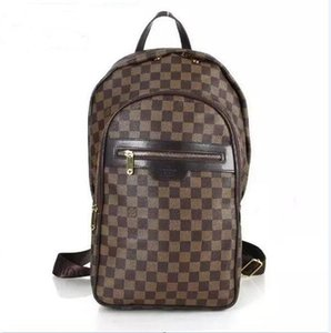 2020 Sell Classic Fashion bags women men 100% Genuine Leather Backpack Style Bags Duffel Bags Unisex Shoulder Handbags