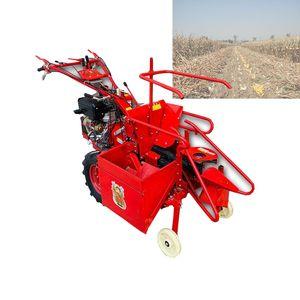 Yüksek kaliteli Çin, mini tatlı sıra mısır / mısır biçerdöver ekipmanları küçük hasat makinesi birleştirmek