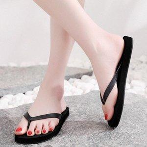 Kadınlar Yaz Plaj Terlik Nefes Ayakkabı Rahat Kaymaz Sandalet Ana Banyo Terlik Ayaklı Düz Plaj Ayakkabı Terlik Ouca # Flops