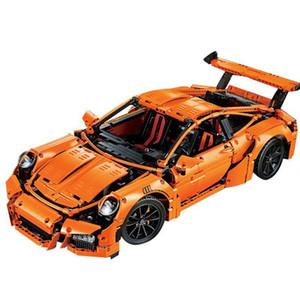 Technic Super Racing Sports Voiture 20001 Orange Moc Building Blocks Bricks 2 Jouets pour enfants Christmas Cadeaux LJ200925