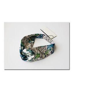 Designer Elastic 100% Seide Stirnband für Frauen Heiße Verkaufs-Luxus-Vogel-Blume druckte Mädchen Haarbänder Headwraps Turban-Kopf-Schal H126