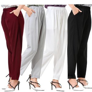Loose Straight Cylinder Active Pants Workout Jogging Casual Women Solid Color Pocket Loose Fit Long Wide Leg Pants Trousers