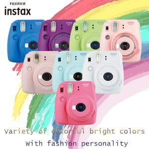 فوجي INSTAX mini9 حظة mini9 التصوير الكاميرا (mini8 ترقية) متعددة الألوان تفريغ الكاميرا فقط