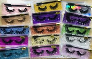 15style 3d Mink Y eyelash False Eyelash Soft Natural Thick 3d mink HAIR false eyelash natural Extension 50pairs DHL free