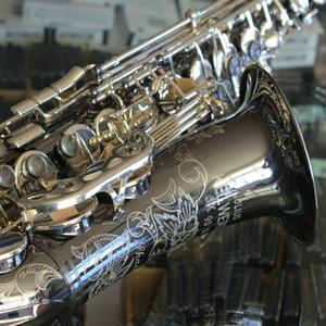 JULIUS Keilwerth SX90R Shadow BB Tune Tenor Saxophone B Strumento musicale piatto JK SX90R Ottone Blass Nickel Scatola sax intagliato con accessori