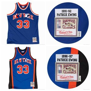 MenNewYorkKnicksPatrick Ewing Mitchell&Ness 1991-92 1996-97 Authentic Jersey